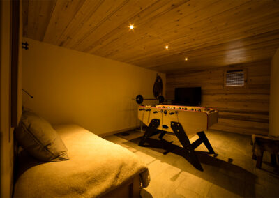 Chalet Ibex - Leisure room 1st level