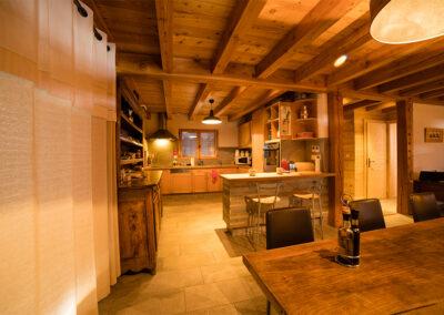 Chalet Ibex - Open-plan kitchen
