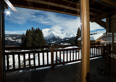 Chalet Ibex - View from living-room
