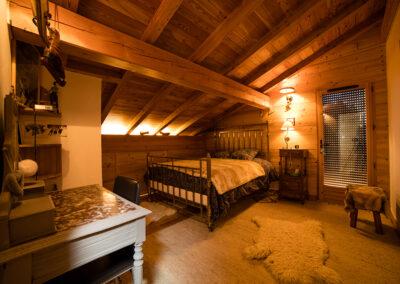 Chalet Ibex - Double bedroom 3rd level
