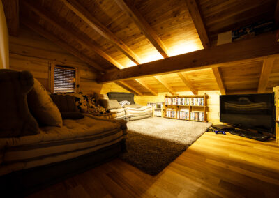 Chalet Ibex - TV room 3rd level