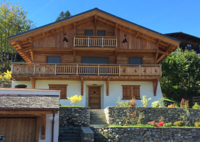 Chalet Ibex in the Summer