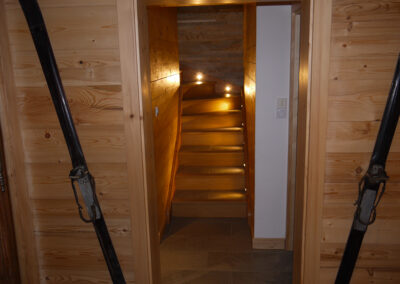 Chalet Ibex - Entrance 1st level