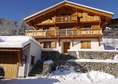 Chalet Ibex in the Winter