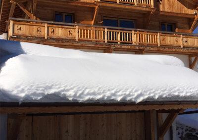 Chalet Ibex - Garage with ski-room