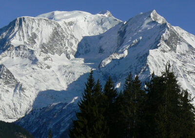 Chalet Ibex - Mont-Blanc view from the chalet