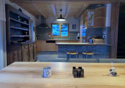 Chalet Ibex - Kitchen 2nd level