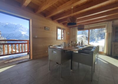 Chalet Ibex - Dining room 2nd level