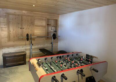 Chalet Ibex - Sport room 1st level